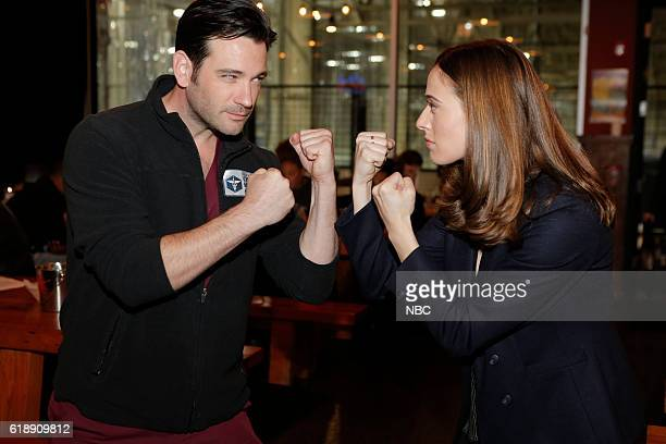 EVENTS 'One Chicago Day' Pictured Colin Donnell 'Chicago Med' Marina Squerciati 'Chicago PD' at the 'One Chicago Day' event at Lagunitas Brewing...