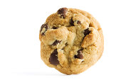 Standing Chocolate Chip Cookie
