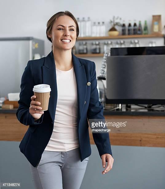 Einen Kaffee zum Mitnehmen