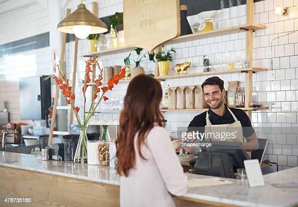 Einen Kaffee zum Mitnehmen, bitte