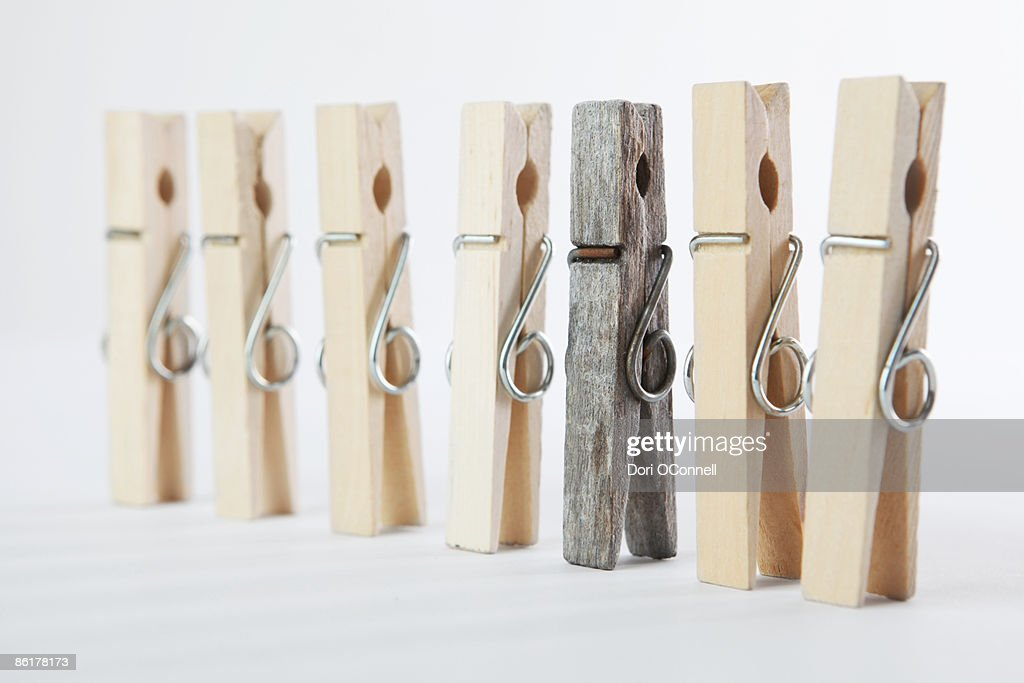 one different : Stock Photo