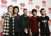 One Direction attend the iHeart Radio Music Festival night 2 press room held at MGM Grand Resort and Casino on September 20 2014 in Las Vegas Nevada