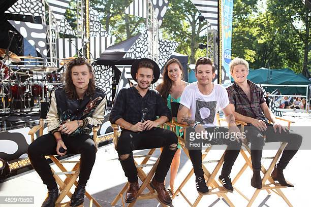 AMERICA One Direction performs live from Central Park as part of the Summer Concert Series on 'Good Morning America' 8/4/15 airing on the ABC...