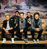 One Direction wax figures return to Madame Tussauds for display during the holiday season on November 24 2014 in New York City