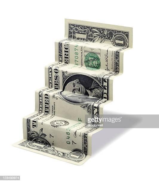 Un dollar escaliers