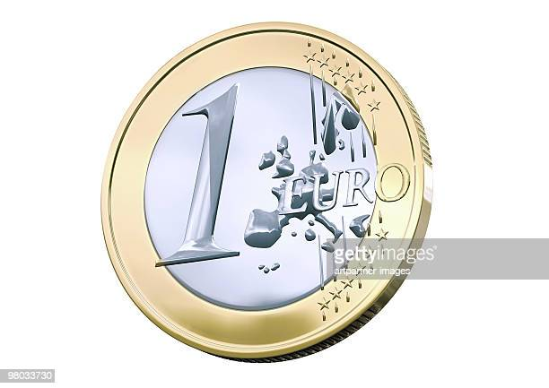 One Euro Coin - Front Side