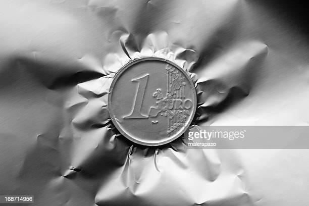 Moneta da un euro.