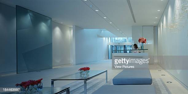One Finsbury Square Offices London United Kingdom Architect Horden Cherry Lee Architects One Finsbury Square Offices Reception With Flowers And...