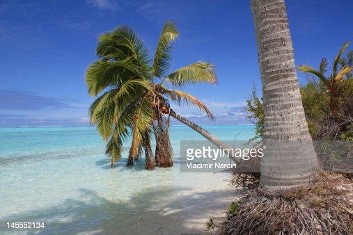One Foot Island, Aitutaki lagoon
