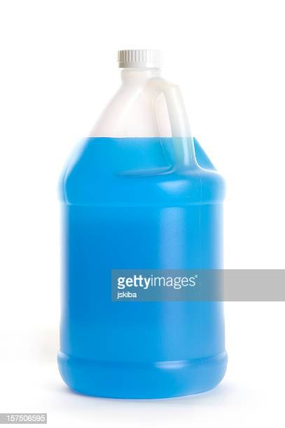 One gallon windshield wash solvent antifreeze & cleaner