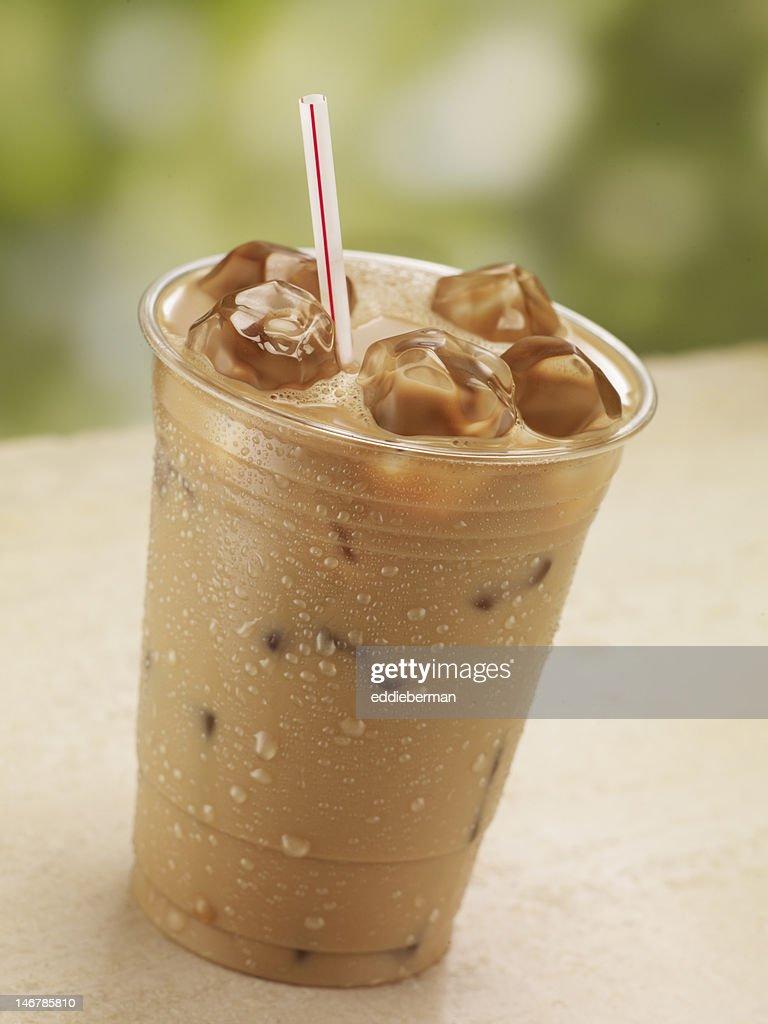 One Glass of Iced Coffee