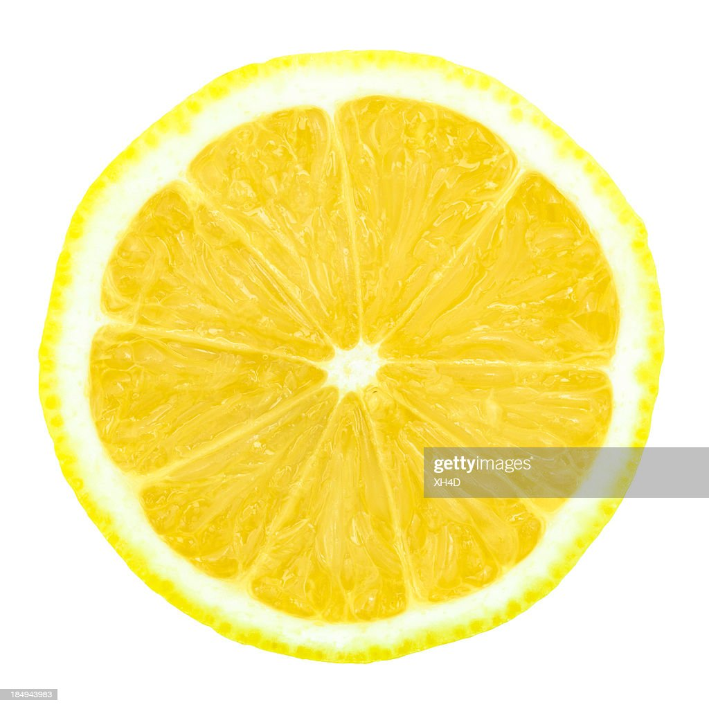 one half of 	lemon