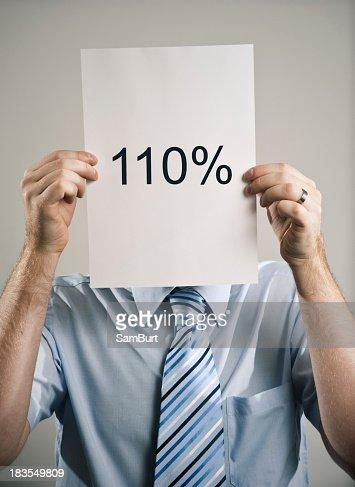 One Hundred & Ten Percent Business Guy
