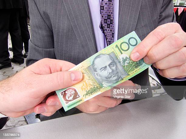 One hundred Australian dollars