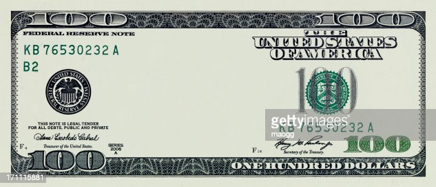 One Hundred Dollar Bill without some original art