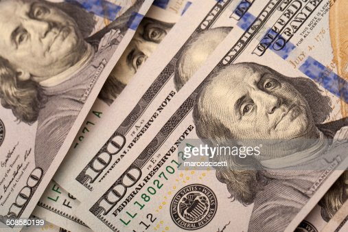 One Hundred Dollars : Stock Photo