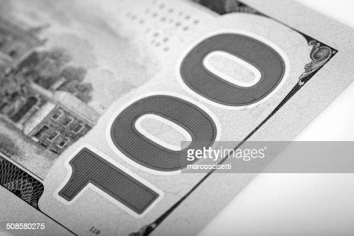 One Hundred Dollars : Stock Photo