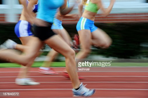 One hundred meters sprint