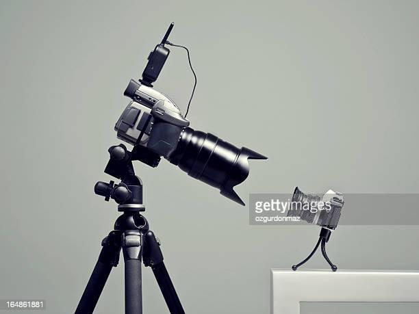 広々とした、小さなカメラ