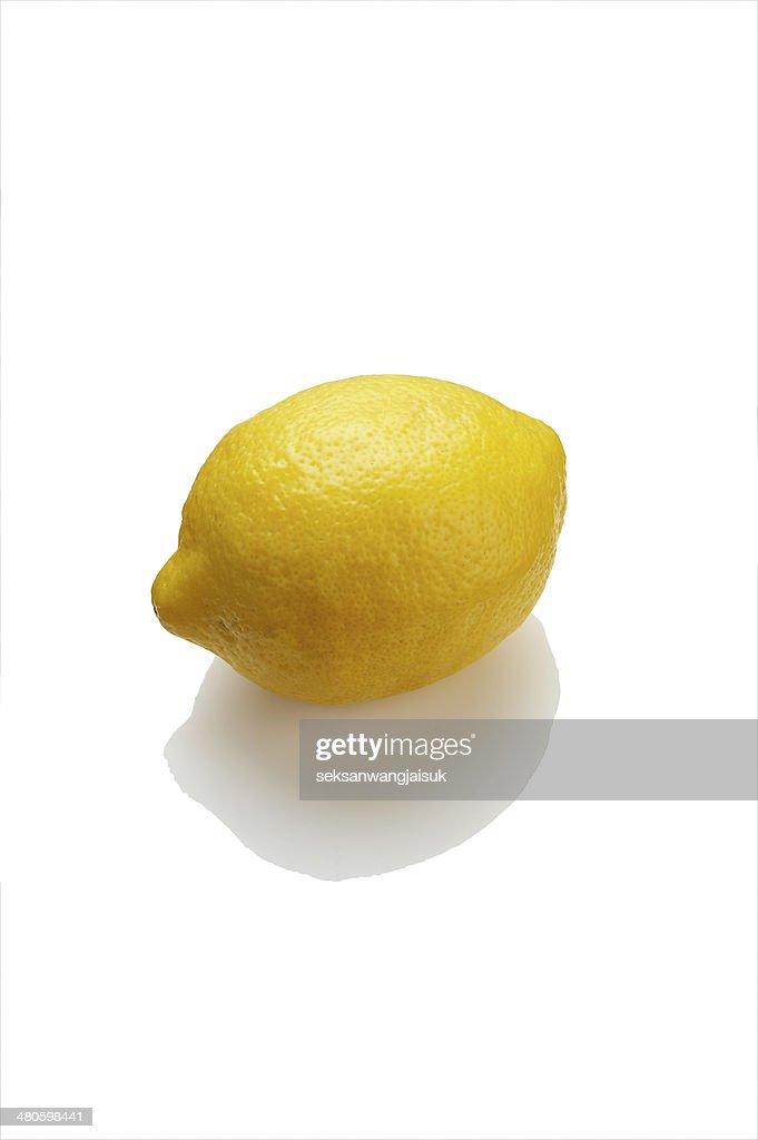 one lemon : Stock Photo