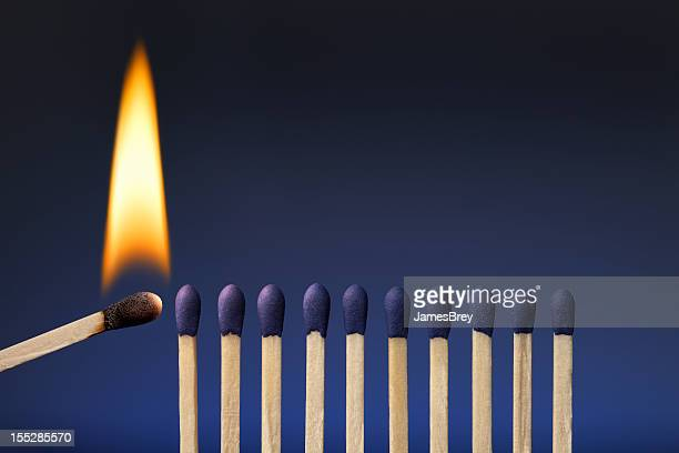 One Lit Match; Share Your Passion, Ignite It in Others
