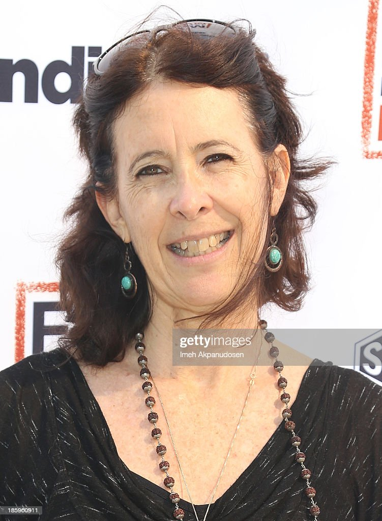 'One Lucky Elephant' writer/director Lisa Leeman attends the Film Independent Forum at the DGA Theater on October 26, 2013 in Los Angeles, California.