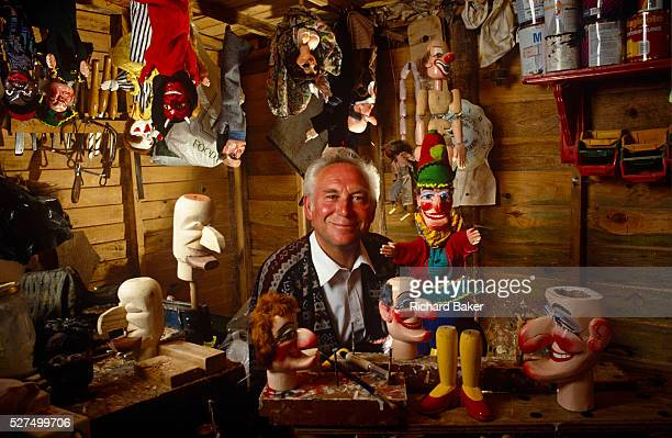 One man is acclaimed the world over and is synonymous with making handcarved puppets Bryan Clarke He is Chairman of the British Punch Judy Fellowship...