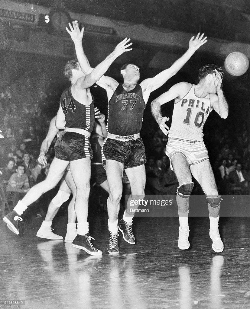 Basketball Slipping Past Joe Fulks and Others