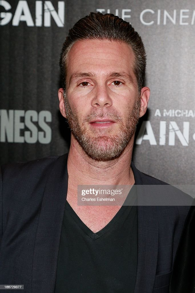 One management founder Scott Lipps attends The Cinema Society and Men's Fitness screening of 'Pain and Gain' at the Crosby Street Hotel on April 15, 2013 in New York City.