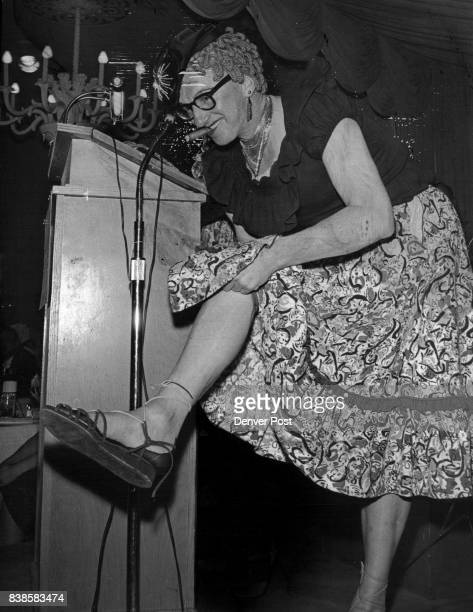 APR 26 1960 APR 27 1960 'One Moment Please' Commentator of the fashion show spoof was Bill O'Rourke former editor of the Colorado Democrat in the...