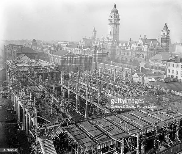 One of 60 views showing the construction of the East Block of the Science Museum Exhibition Road South Kensington London The view shown here would...