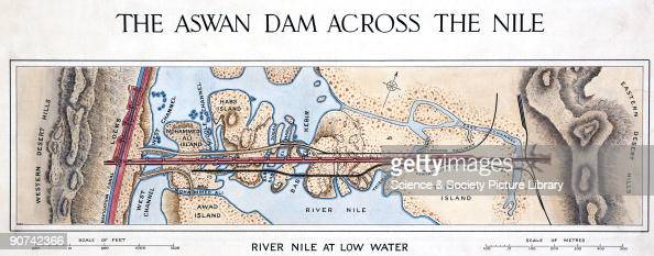 The River Nile At Low Water Egypt Pictures Getty Images - Map of egypt showing nile river