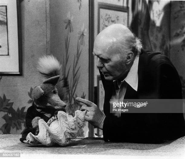 One of last photographs of tv magician David Nixon who has died suddenly at his Surrey home The photograph shows Mr Nixon recording an appearence in...
