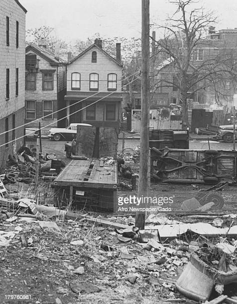 One of many possible locations for the New Jersey College of Medicine and Dentistry Newark New Jersey March 11 1967