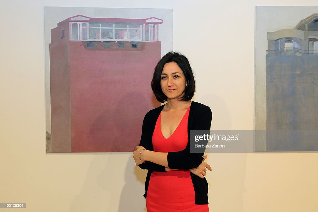 One of The curators of Albanian Pavilion, Jonida Turani attends the opening of The 14th International Architecture Exhibition on June 5, 2014 in Venice, Italy.