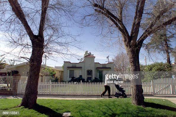 One of the homes within a neighborhood in Van Nuys where there's an effort afoot to establish the Valley's first Historc Preservation Overlay Zone in...