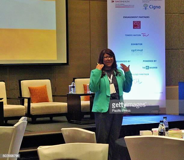 One of the key speaker Sushma Ceasa Senior Manager Corporate Learning Development Emaar Hospitality Group