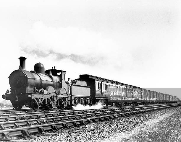 One of the last Great Western Railway steam locomotives 1 August 1926 This locomotive was probably running to Newbury Before mass road transport...