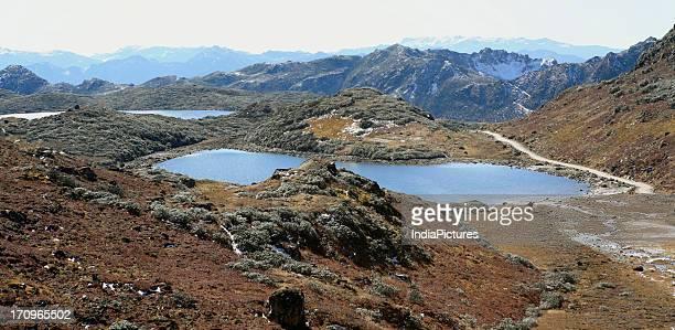One of the many lakes in Bumla Arunachal Pradesh India