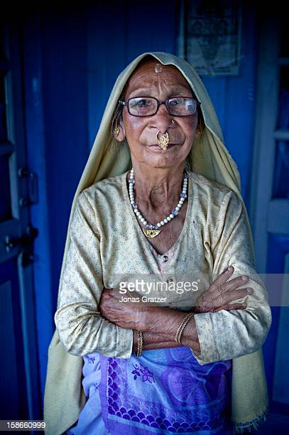 One of the many women who have spent their lives picking tea leaves from Darjeeling hills The mountains around Darjeeling are naturally gifted with...