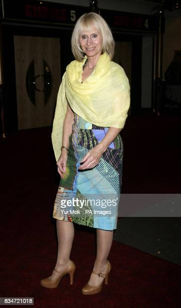 One of the stars of the film Rita Tushingham arrives for the premiere of 'Puffball' at The Empire in Leicester Square central London