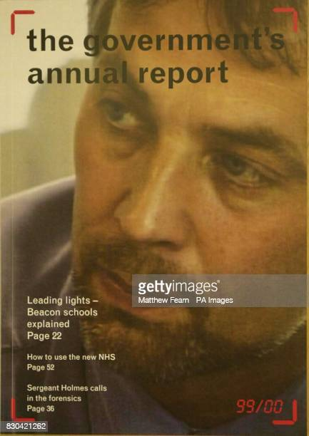 One of the ten different front covers to the 99/00 Government Annual Report The release of the report is part of a drive by the Labour Government to...