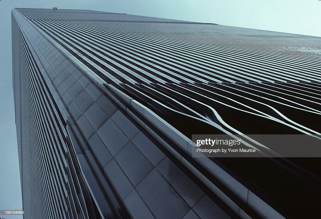 One of the twin towers : Stock Photo