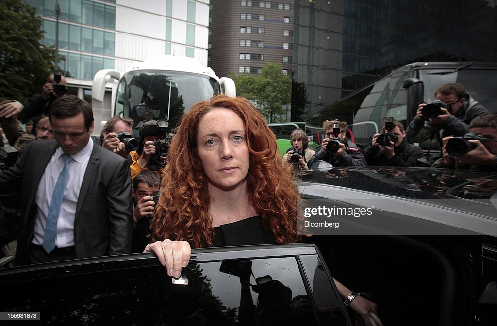 EDITORS' GUILD AWARDS 2012. One of the winning set of five photographs for the 'Bloomberg Business Photographer of the Year' by photographer Jason Alden. Picture Shows: Rebekah Brooks, former head of News Corp.'s U.K. publishing unit News International, leaves after appearing at Southwark Crown Court in London, U.K., on Friday, June 22, 2012. Photographer: Jason Alden/Bloomberg via Getty Images