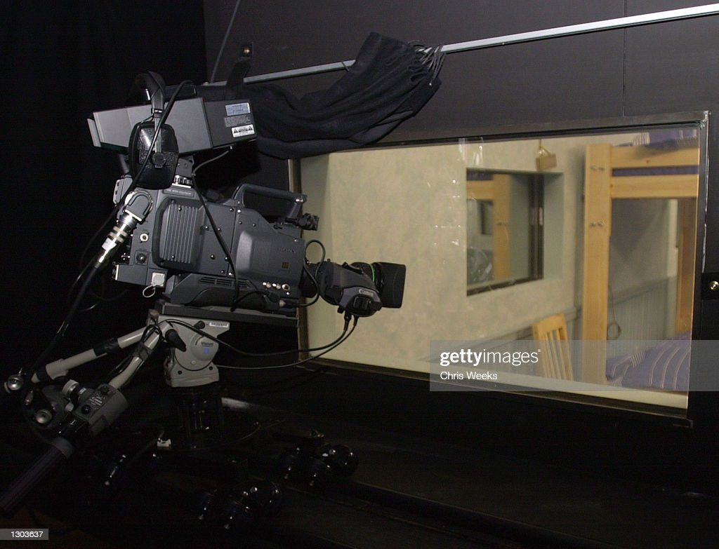 One of twentyeight cameras behind a twoway mirror is set up for the new realitybased show 'Big Brother' debuting on CBS July 5 2000 'Big Brother'...