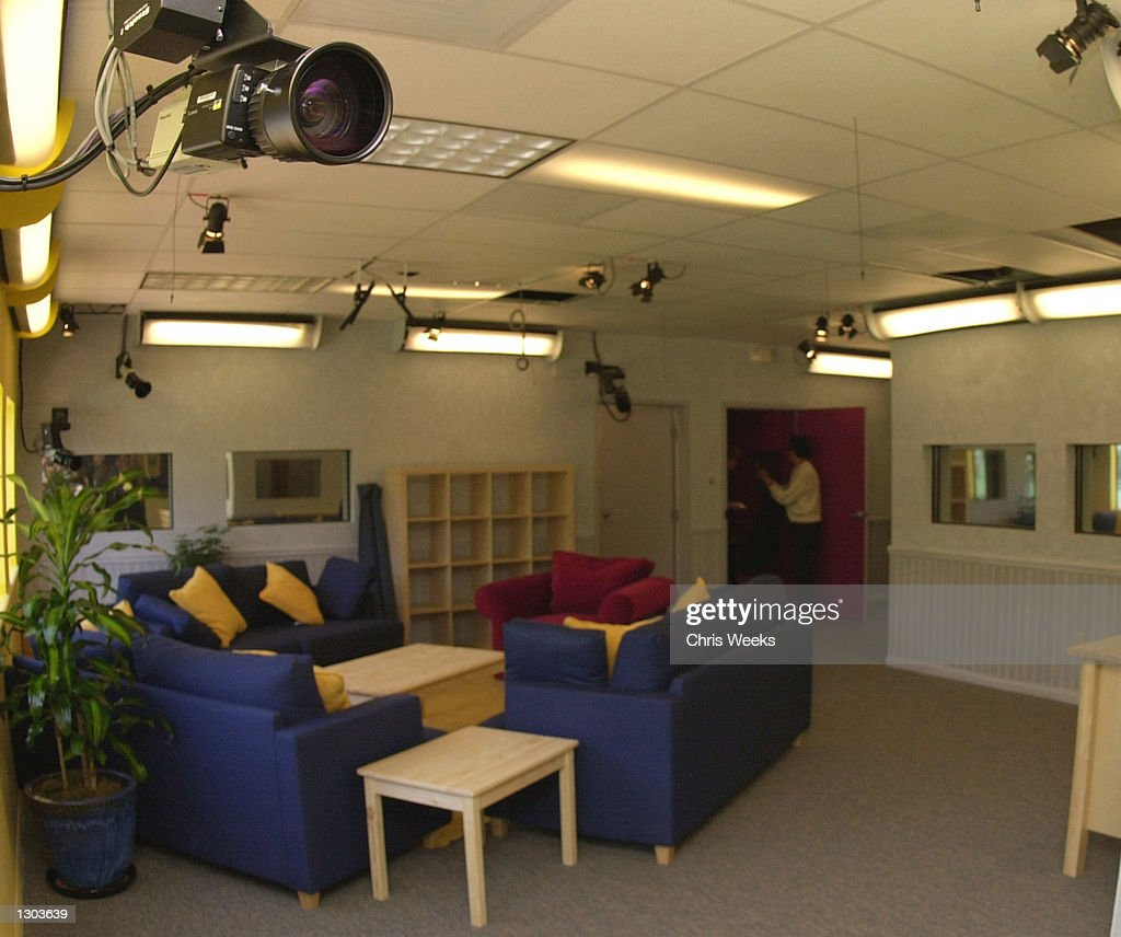 One of twentyeight cameras is set up for the new realitybased show 'Big Brother' debuting on CBS July 5 2000 'Big Brother' features ten strangers...