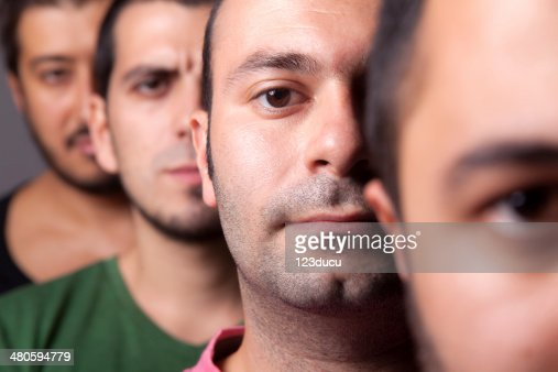 One of us : Stock Photo