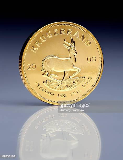 One ounce Krugerrand gold coin