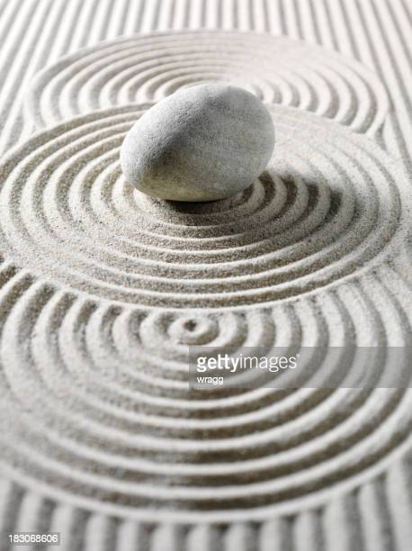 One Pebble Three Circles for Feng Shui