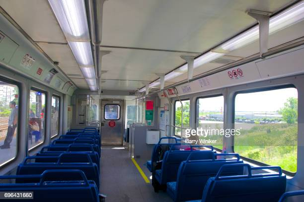 One person in train car en route to Cleveland Airport